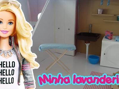 Casa da Barbie - Lavanderia (Área de Serviço)
