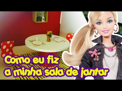 Casa da Barbie - Sala de Jantar