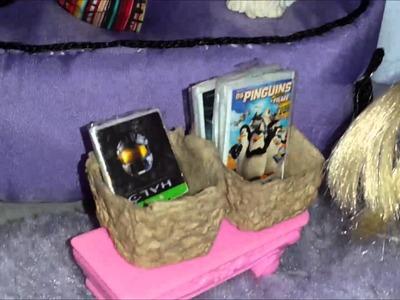 Coisas para bonecas - Sala de jogos