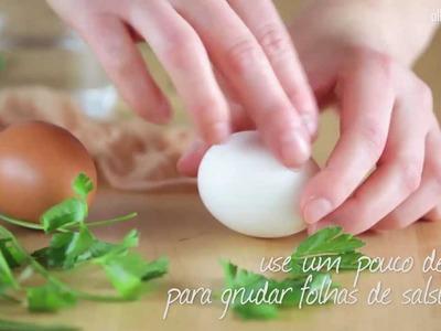 Como colorir ovos para a Páscoa