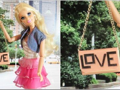 Como Fazer Bolsa para Barbie; Modelo Inspiração: