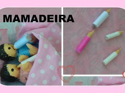 Como fazer mamadeira para bebê de boneca Barbie e outras