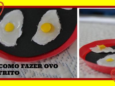 Como fazer ovo frito para suas bonecas
