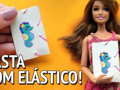 Como fazer Pasta com Elástico para Barbie e outras Bonecas