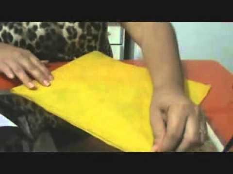 Como fazer sacolinhas de TNT para lembrancinhas de aniversário,gastando muito pouco!