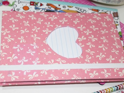 DIY   Caderno Customizado - Volta `as aulas -  Back to School - Segredos de Aline