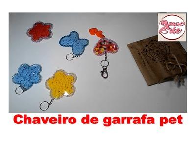 Diy - Chaveiro de garrafa pet - Amocarte Artesanato