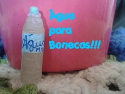 ♡DIY: Garrafinha de Água para Barbie , MH , EAH ♡