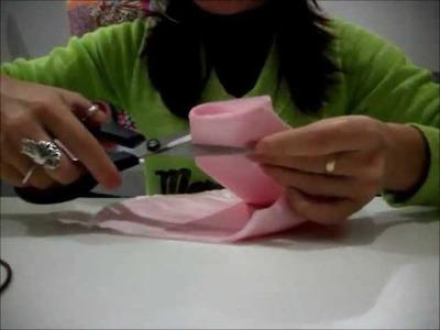 Flor de Tecido - Parte I - Costureira de Mão Cheia