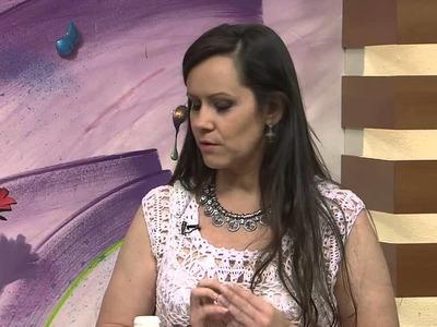 Mulher.com 19.02.2014 Helen Mareth - Coelho porta bombom Parte 1.2