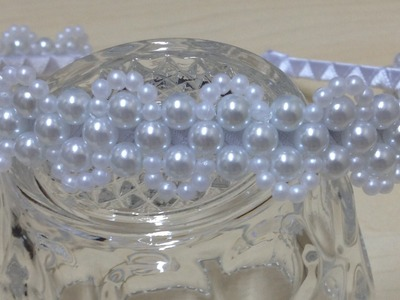 Passo a passo - Tiara de Pérolas Delicada - Tiara de noiva - Entrelaçado de pérolas em tiara #1