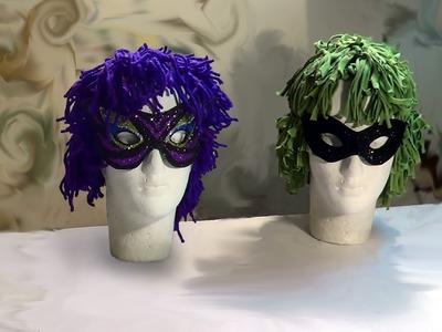 Peruca para Fantasia de Carnaval e Halloween