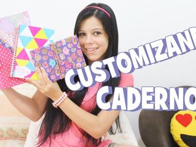 Volta às Aulas: DIY - 3 Ideias para Customizar Cadernos