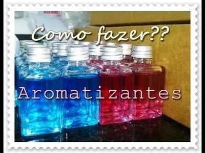 #15Anos: Como fazer aromatizantes