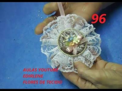 AULA 96: SACHÊ DE RENDA VINTAGE