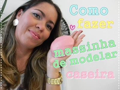 Como fazer massa de modelar caseira | por Luciana Aragão