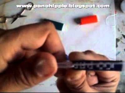 Como fazer pulseira de nome com linha
