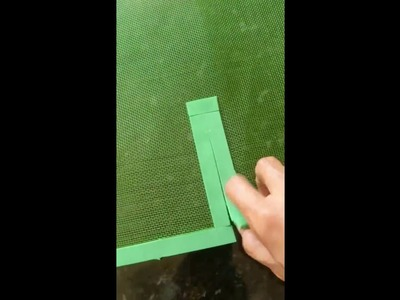 DIY: Tela mosquiteiro fácil