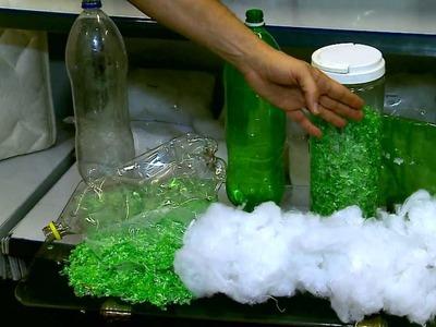 Empresa transforma garrafa pet em matéria prima - Programa Good News RedeTV!