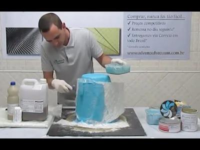 Fibra de Vidro - Como Copiar uma Peça Parte 2.2