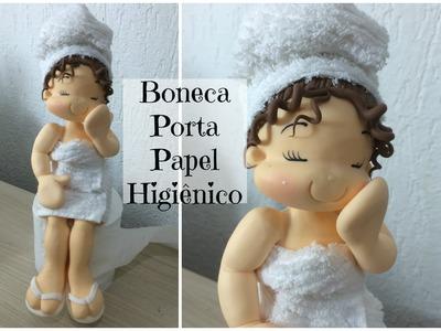 Laura Biscuit - Boneca Porta Papel Higiênico