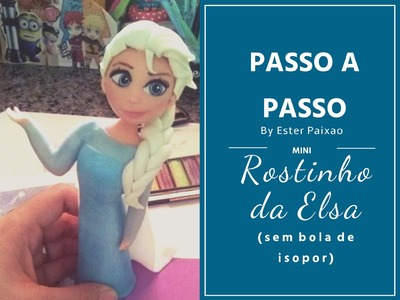 Passo a Passo rostinho Elsa e Ana Frozen