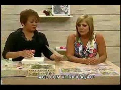 Vitrificação em caixa com Mamiko - Vitrine do Artesanato na TV