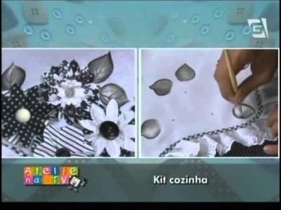 Ateliê na TV - Kit Cozinha - Lili Negrão