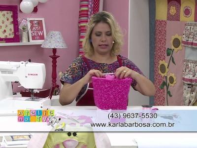 Ateliê na TV - Rede Brasil - 09.02.16 - Karla Barbosa e Catiane Gobbi