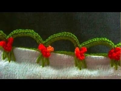 Bico em crochê mimoso - CROCHÊ 30