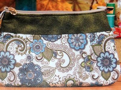 Bolsa de tecido Primavera - Maria Adna Ateliê - Cursos e aulas de bolsas de tecido e couro
