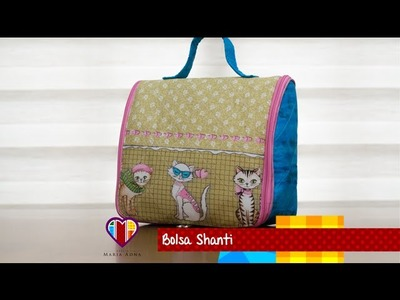Bolsa de tecido Shanti - Maria Adna Ateliê - Cursos e aulas de bolsas de tecido