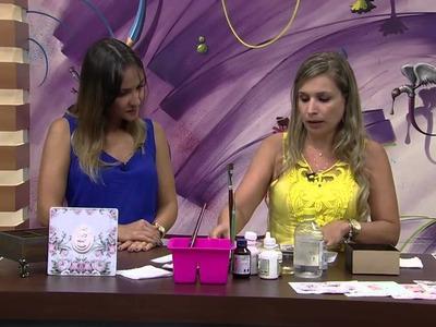 Caixa estilo antiga por Camila Claro de Carvalho Parte 2 Mulher com 05 01 2015