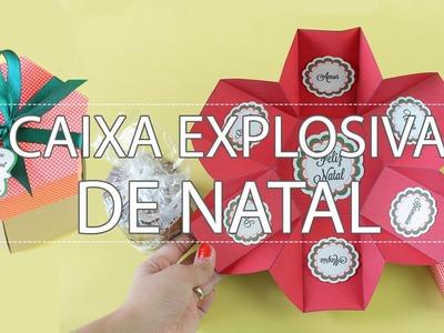 Caixa Explosiva de Natal [Fácil e simples]