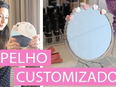 [DIY] Como fazer Espelho Customizado - wFashionista