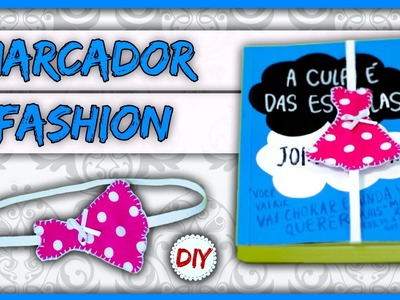 DIYminuto: Marcador de Página Super Fashion
