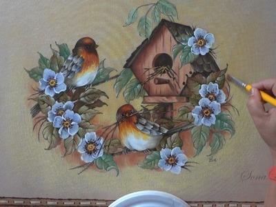 Pássaro em Emborrachado (Parte 3.Aula 8)