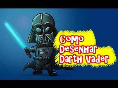 Star Wars - Como Desenhar Darth Vader