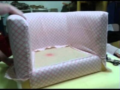 Tutorial de como remodelar o seu sofá antigo - Paumage Decorações