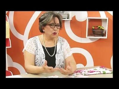 Almofada Catavento com Elza Aidar | Vitrine do Artesanato na Tv
