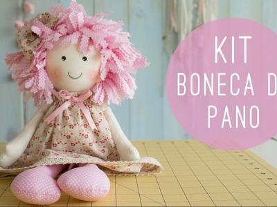 Anita Catita - Kit Boneca de Pano