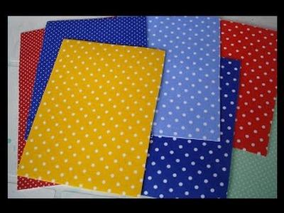 Aprenda como estampar tecido em eva- Passo a Passo