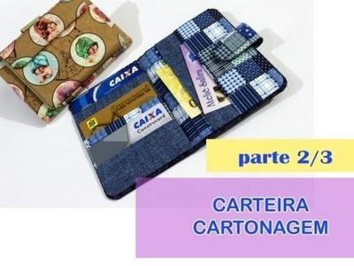 CARTEIRA EM CARTONAGEM - Passo a Passo 2.3