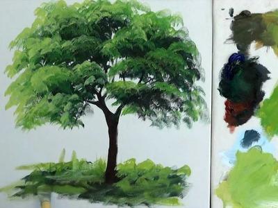 Como Pintar :  Arvore. 1