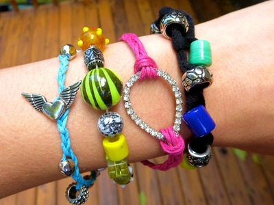 DIY Faça você mesmo: Pulseiras - Bracelets