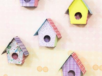 Faça Uma Adorável Casinha de Passarinho de Decoração de Parede - Faça Você Mesmo Casa - Guidecentral