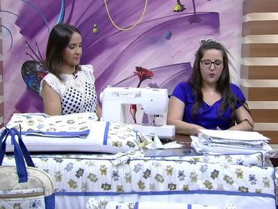 Mulher.com - 14.10.2015 - Jogo de lençol - Regina Heitor PT1