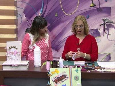 Mulher.com 25.08.2014 - Livro Assinatura Maternidade Menina por Adriana Galvão