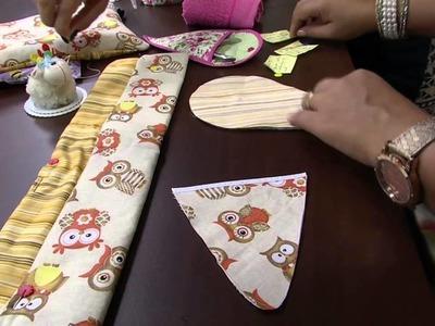 Mulher.com 28.03.2014 Ana Paula Faria - Bolsa manicure