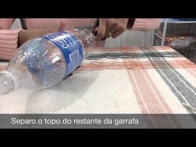 Como fazer peso de porta usando garrafa pet